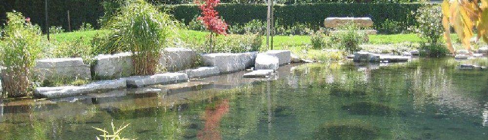 Brunnen und Teichanlagen